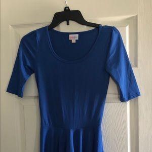 Blue Lularoe dress